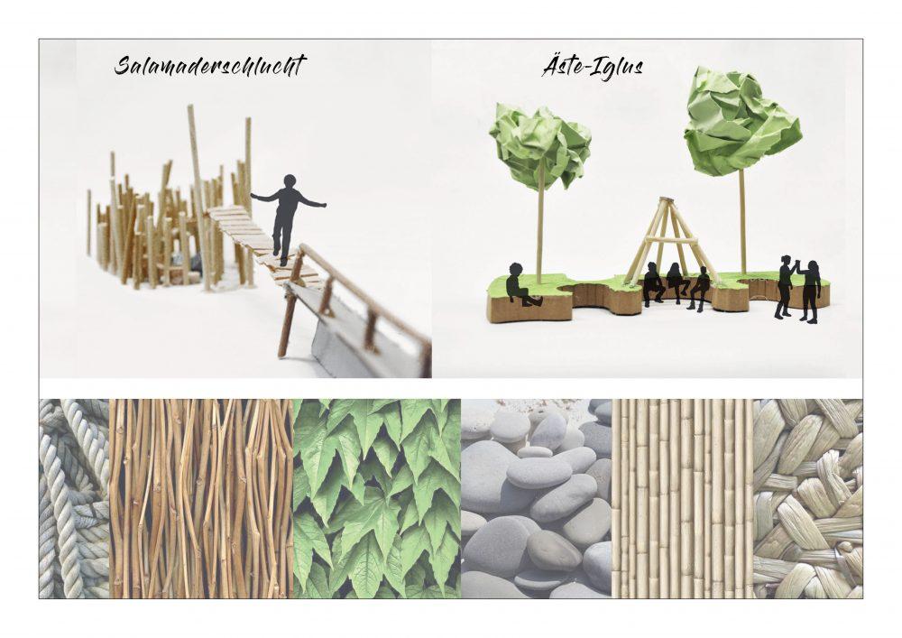 "Fabian Rätzel, Aus dem Entwurf ""Natur pur"""