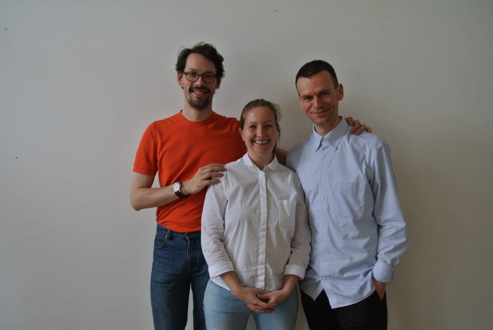 Judith Wiedemann (Mentorin), Kaur Hensel, Sven Hildebrand/haemd (Mentees)