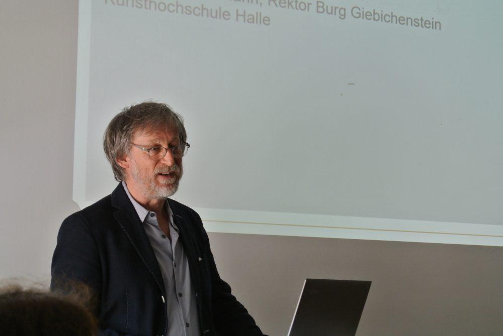 Rektor der BURG Dieter Hofmann
