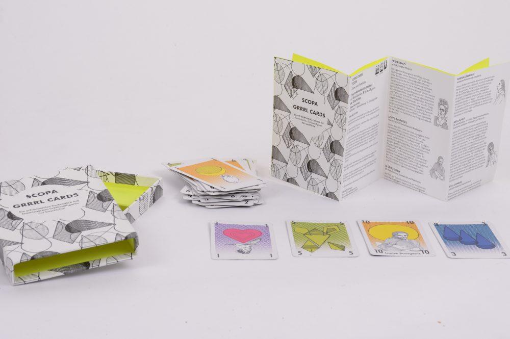 Scopa Grrrls Cards