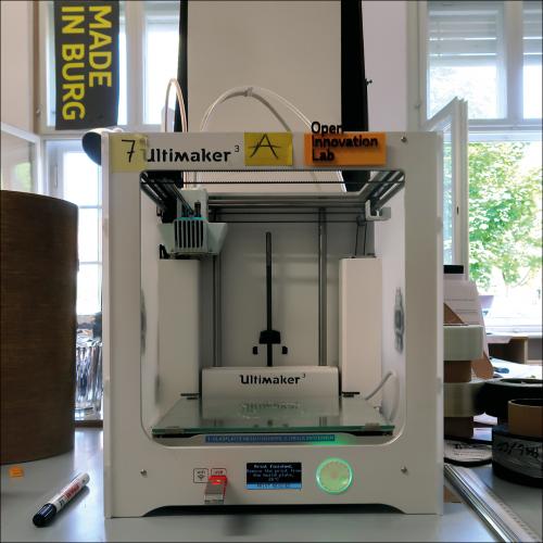 3D Drucker im Open Innovation Lab